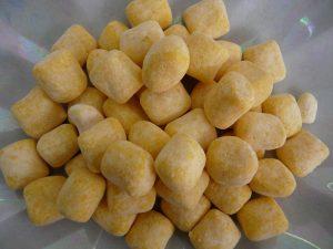 Tangy lemon chewy bonbons