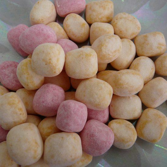 Chewy Rhubarb & Custard sweets