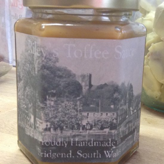 Riley's Toffee Sauce