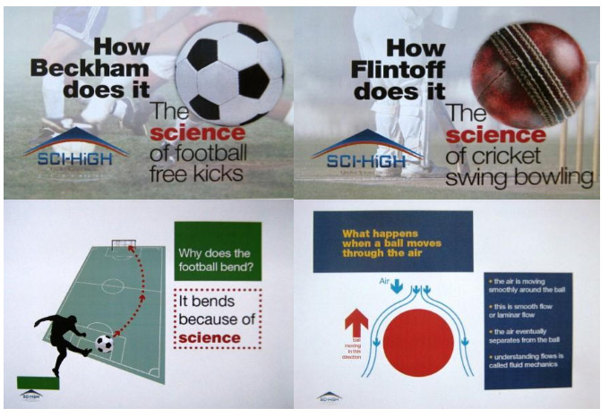 Football & Cricket Science Events