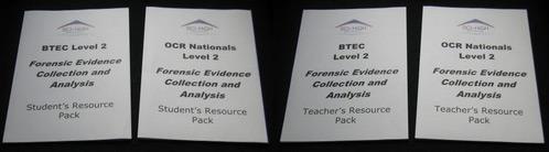 Forensic Science Workbooks